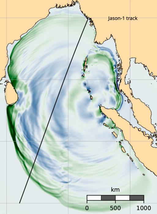 Numerical model of the 2004 Sumatra earthquake