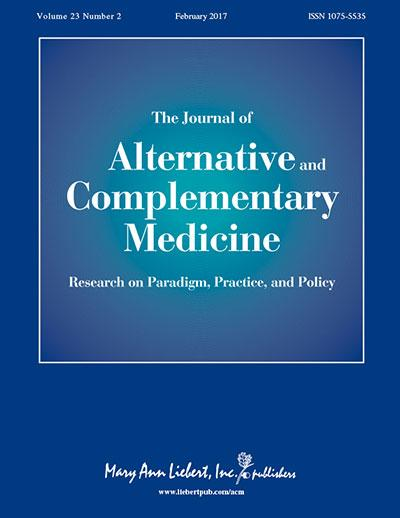 <I>The Journal of Alternative and Complementary Medicine</I>
