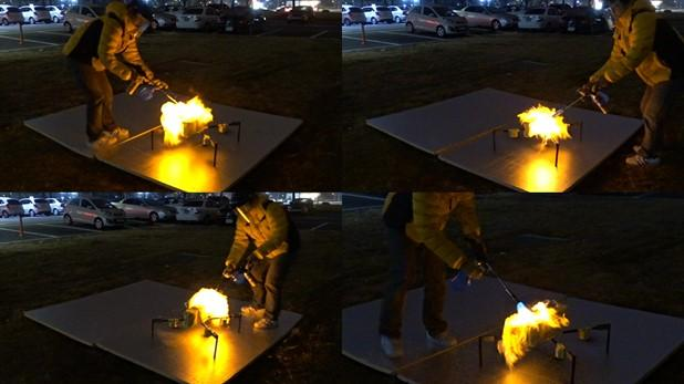 Fireproof Aerial RObot System Withstands Fires