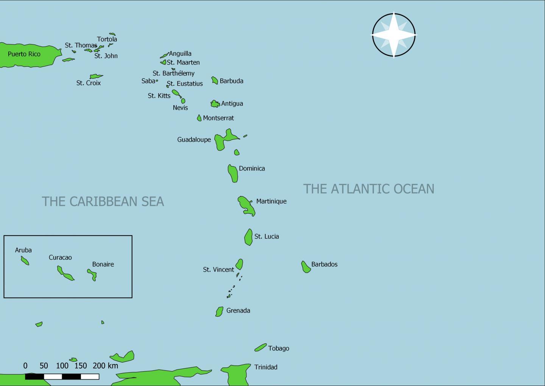 The Lesser Antilles