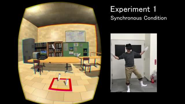 Demonstrations of Visual-Motor Synchronous Conditions of the Experiments