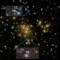 A Gravitationally Lensed Galaxy