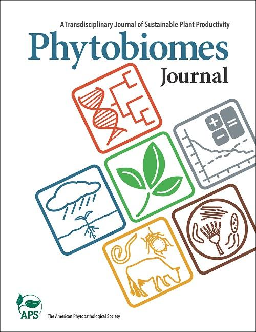 <I>Phytobiomes Journal</I> Cover