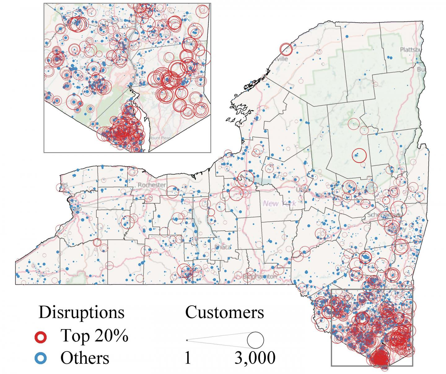 Utility Disruptions from Super Storm Sandy
