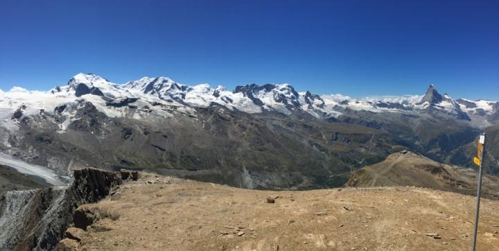 Zermatt in the Western Alps