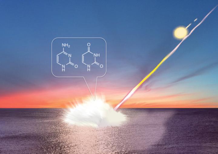 Meteorite Impacts Can Create DNA Building Blocks (1 of 2)