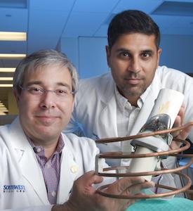 Dr. David Greenberg and Dr. Rajiv Chopra