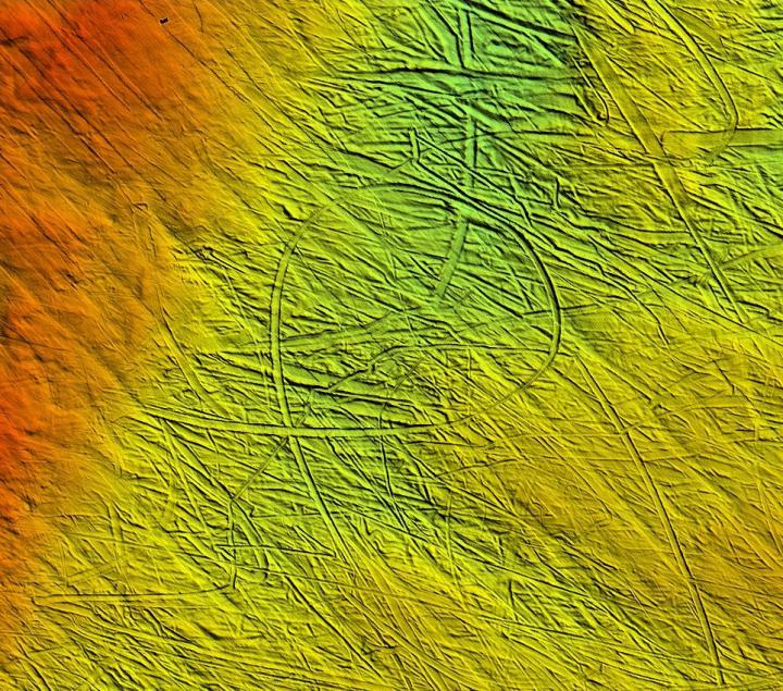 Loop-Shaped Iceberg Plough Mark