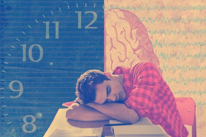Napping Helps Sleepy Teens