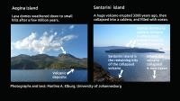 Boring Vs Explosions -- a Tale of Two Kinds of Volcanoes