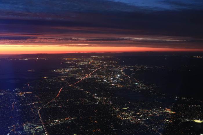 Nighttime urban heat island