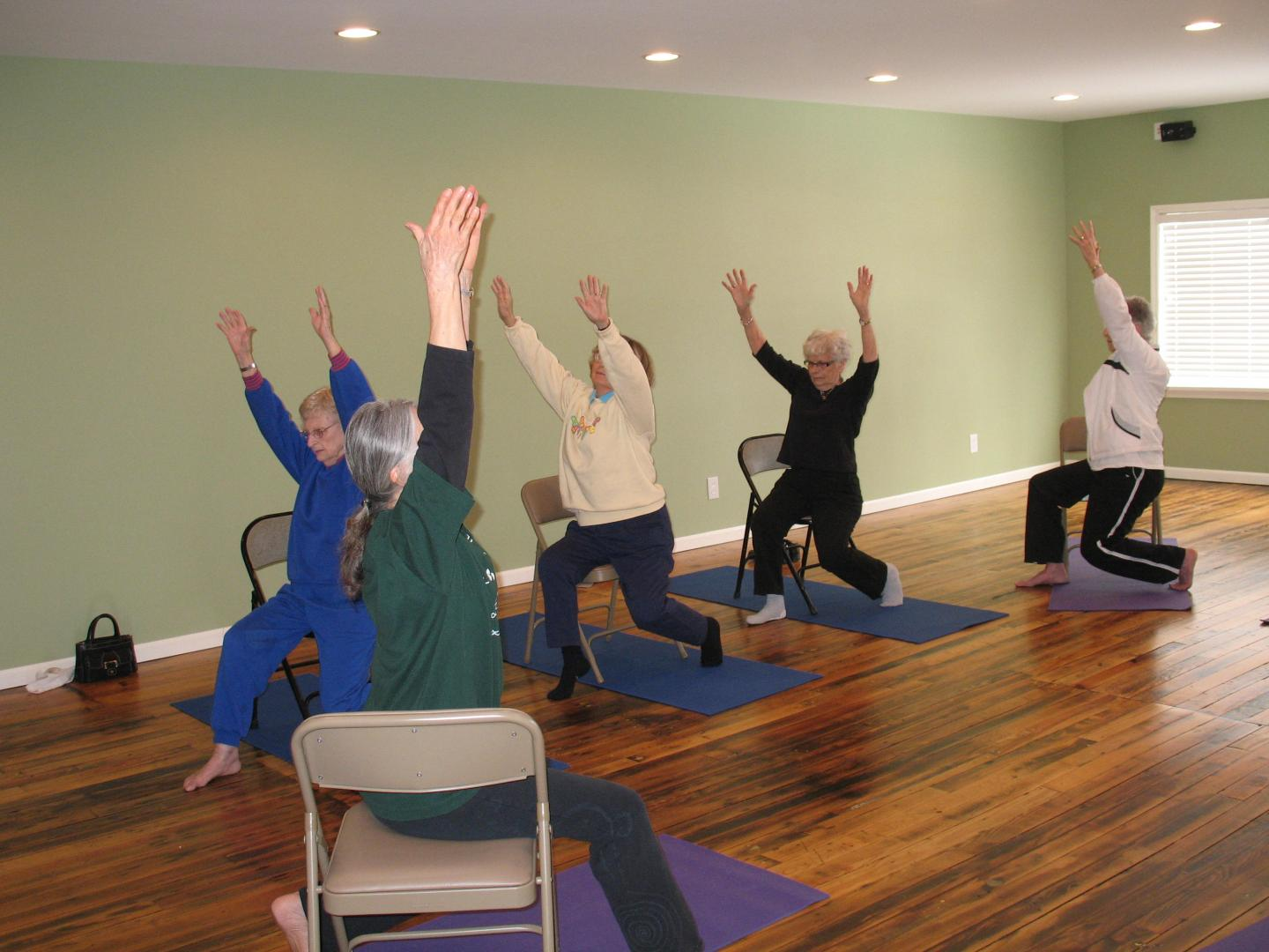 FAU Study First to Show That Chair Yoga Could be Effective Alternative Treatment for Osteoarthritis