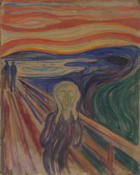 The Scream (1910?) Munch Museum