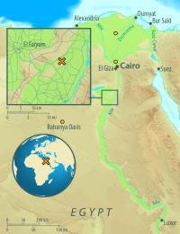 Abusir el Meleq Map