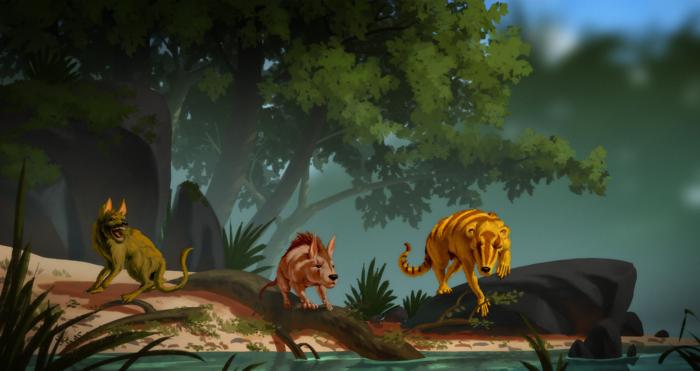 Paleogene creatures