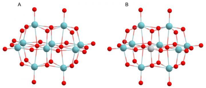 Structure polyoxoniobate