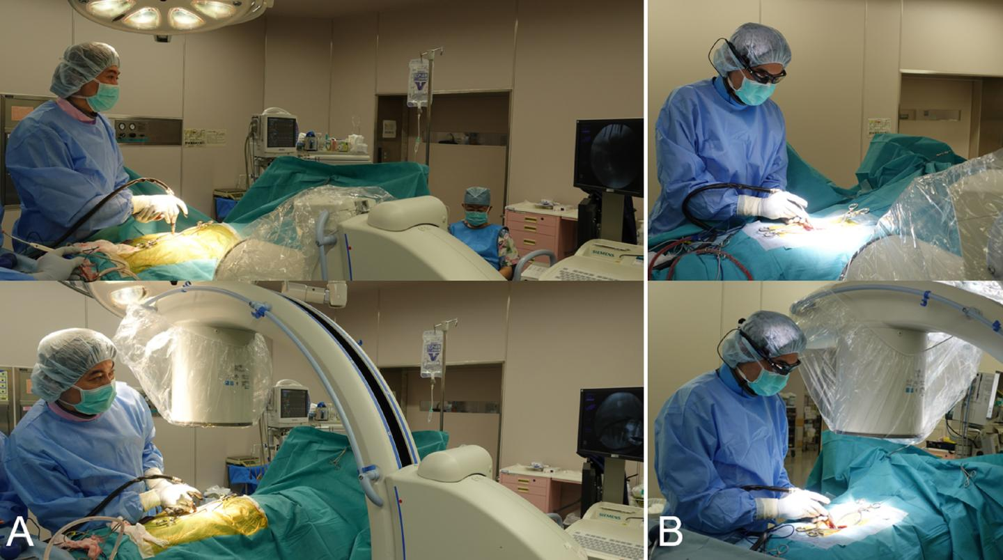 Comparison Of Fluoroscopy-guided Procedures