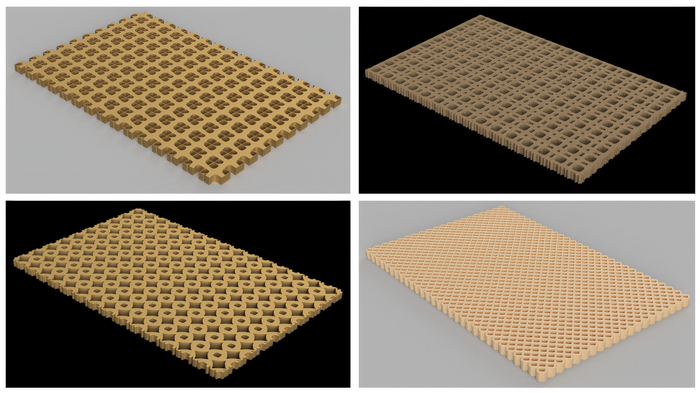 Extreme metamaterial micro‑structures by robust topological designs