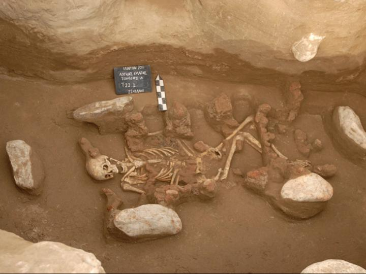 Remains from Middle Bronze Age individual in Northern Greece