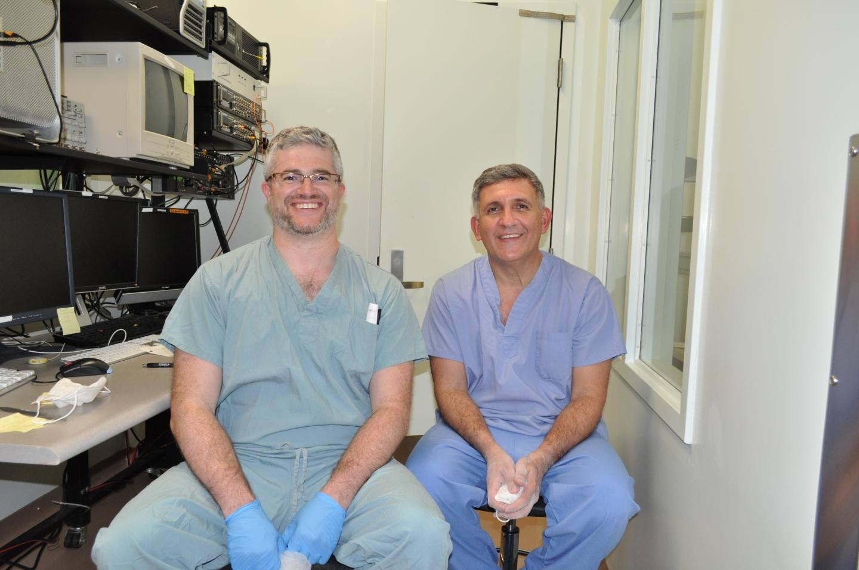 Dr. Adam Sachs and Dr. Julio Martinez-Trujillo,  University of Western Ontario