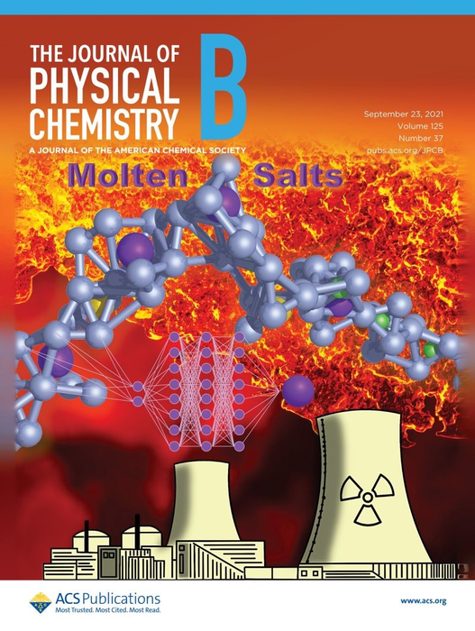 The Journal of Physical Chemistry B Cover Art