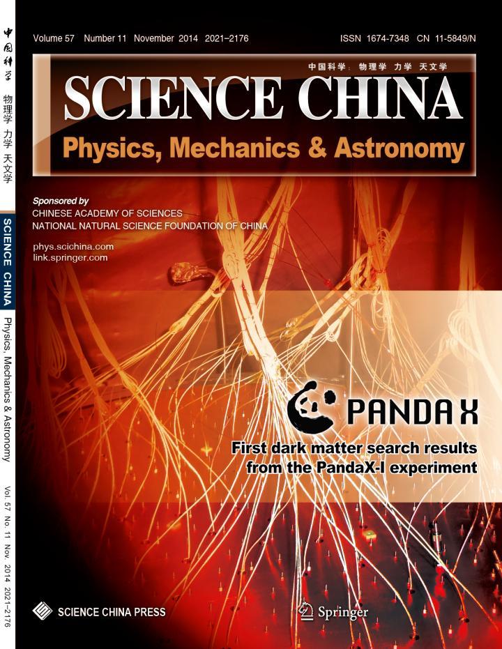 <i>SCIENCE CHINA Physics, Mechanics & Astronomy</i>