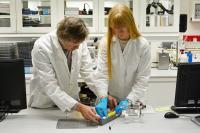 Researchers Odne Stokke Burheim and Kjersti Wergeland Krakhella