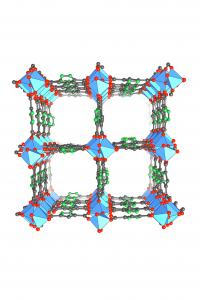 Crystal structure of MOF-303