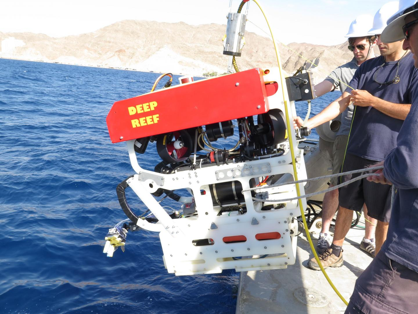 ROV Equipped With Soft Gripper