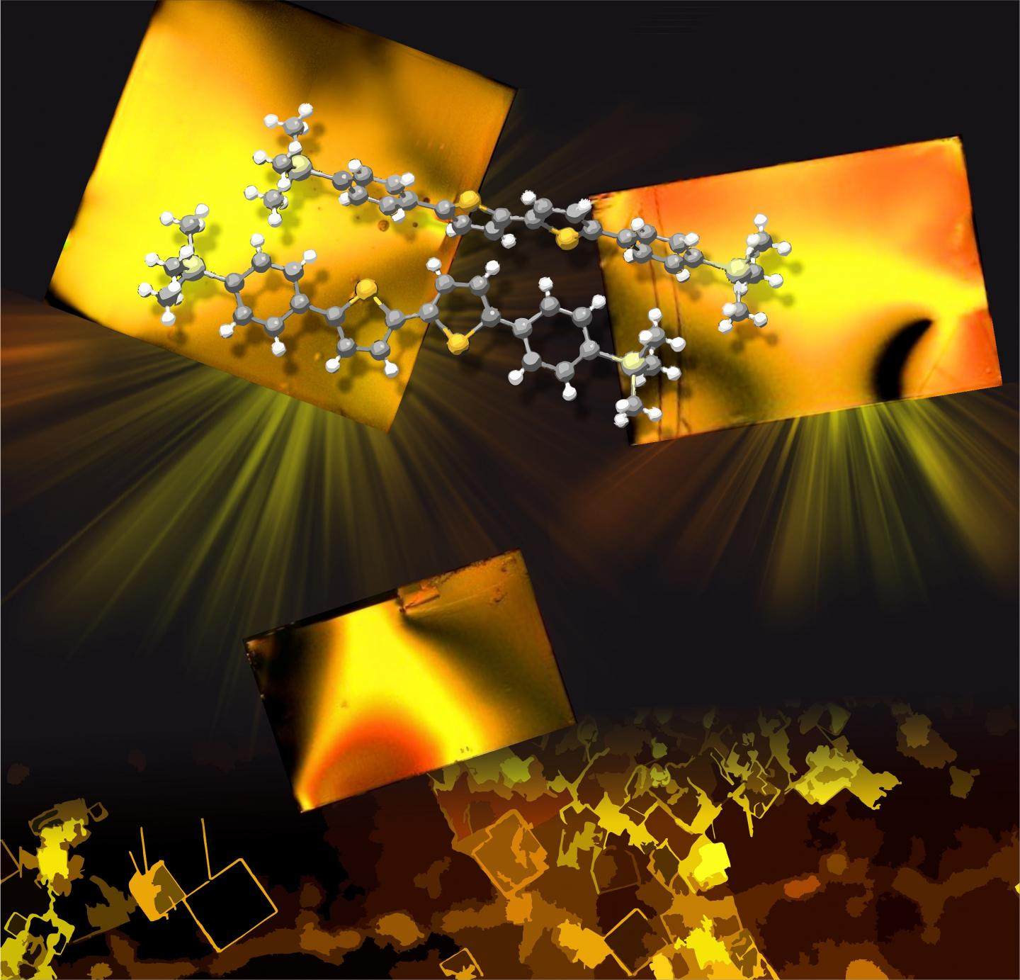 Crystals and Flexible Electronics