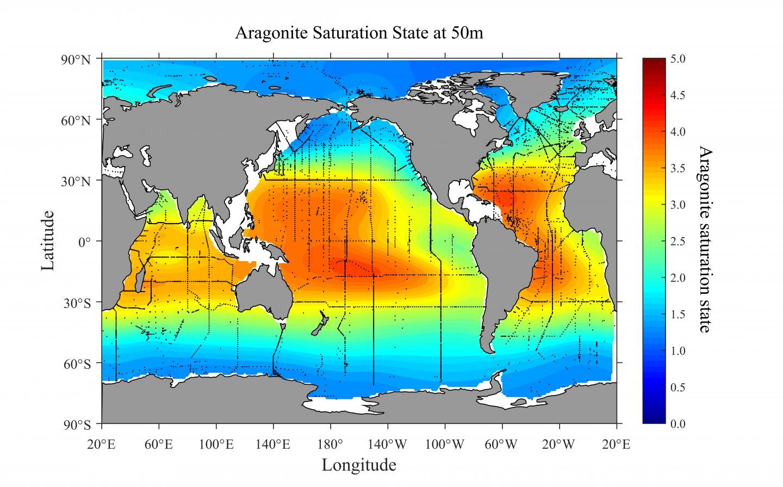Most Vulnerable Regions to Ocean Acidification