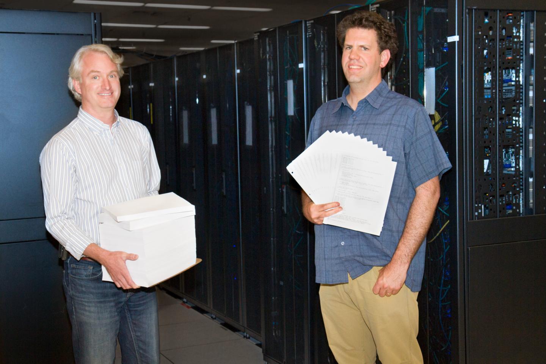 Reid Priedhorsky and Tim Randles, DOE/Los Alamos National Laboratory