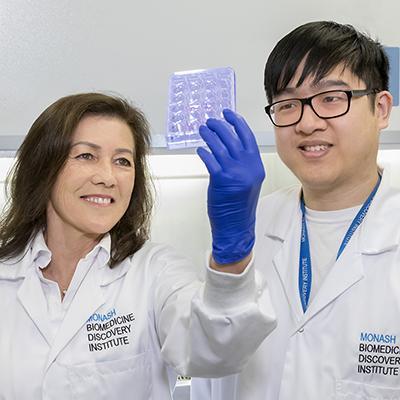 A/Prof Ann Chidgey and Dr Michael Hun