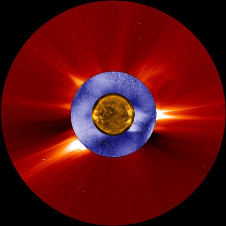 Coronal Mass Ejection Animation