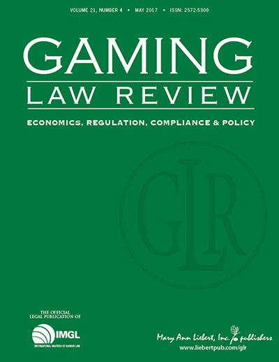 <em>Gaming Law Review: Economics, Regulation, Compliance, and Policy</em>