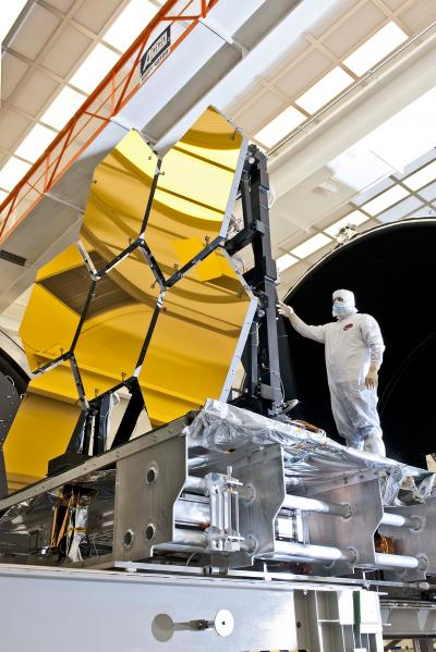First Six Flight-ready James Webb Space Telescope's Primary Mirror Segments