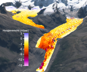 Glaciers are melting faster and faster