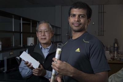 George Hirasaki and Sumedh Warudkar, Rice University