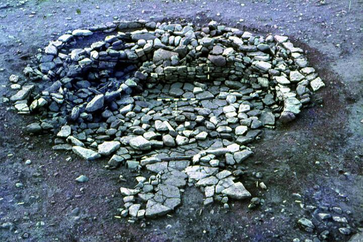 Objects Were Incorporated into the Walls of This Iron Age Roundhouse in NE Scotland