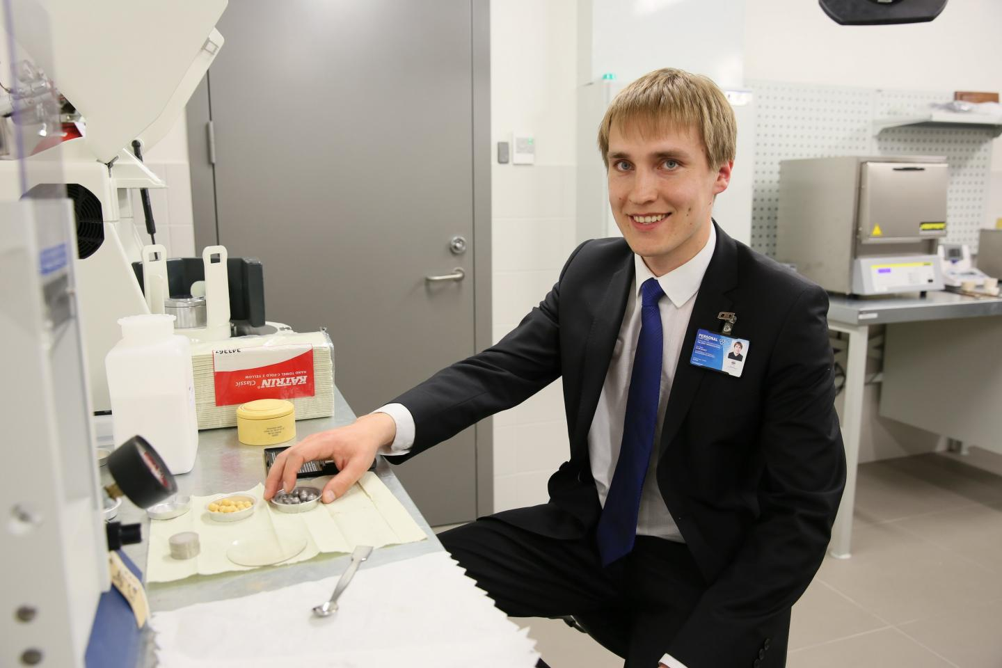 Head of Laboratory of Fuel and Air Emission Analysis in TalTech, Professor Alar Konist.