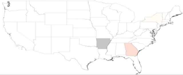 Influenza-like Illness (ILI) Spreading Patterns in the US