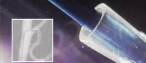 Steerable catheter closeup