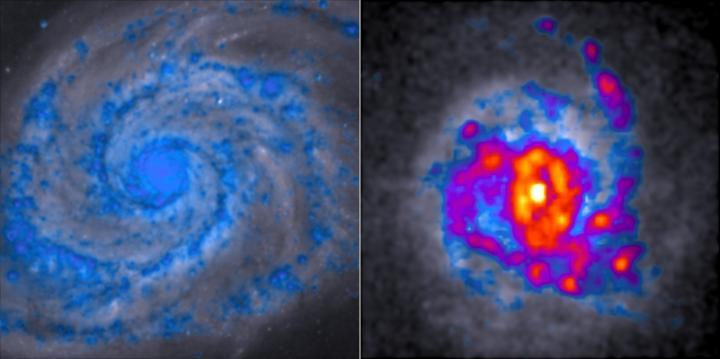Spiral Galaxy V Clumpy Galaxy