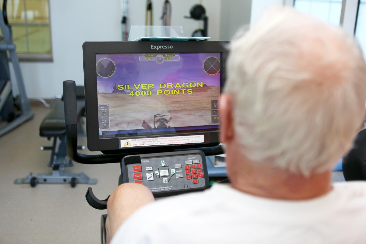 Move It and Use It: Exergaming May Help Those at Risk of Alzheimer's or Related Dementias