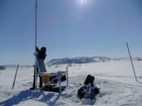 Microphone Set Out to Record Songs and Calls of Migratory Birds