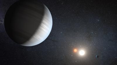 Kepler 47 Artist's Rendition