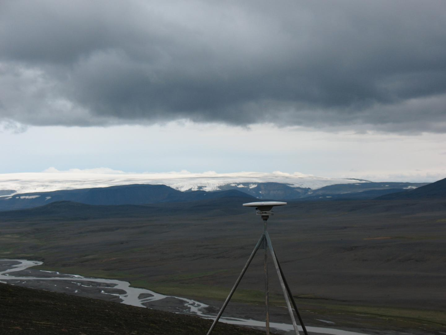 GPS Receiver in Iceland