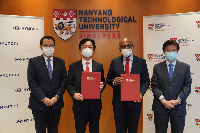 NTU Singapore and Hyundai Motor Group to develop advanced solutions for electric vehicle manufacturing