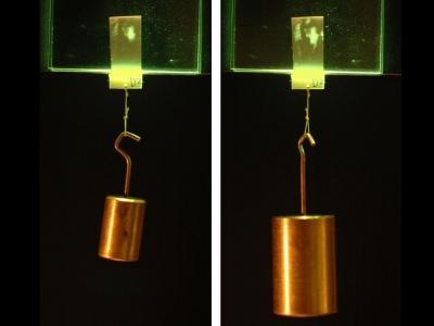 Adhesive Hangs in the Balance