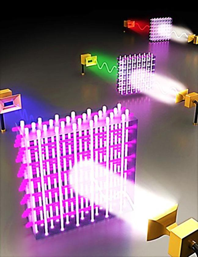 Dynamic Plasma/Metal/Dielectric Crystals